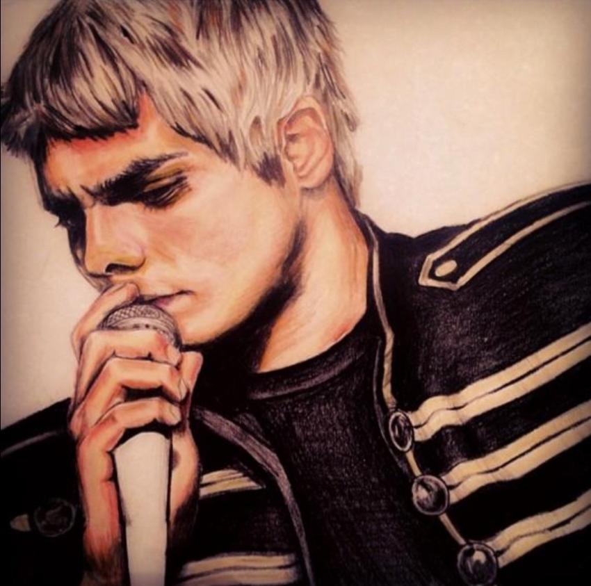 Gerard Way by BlueMoonEvie